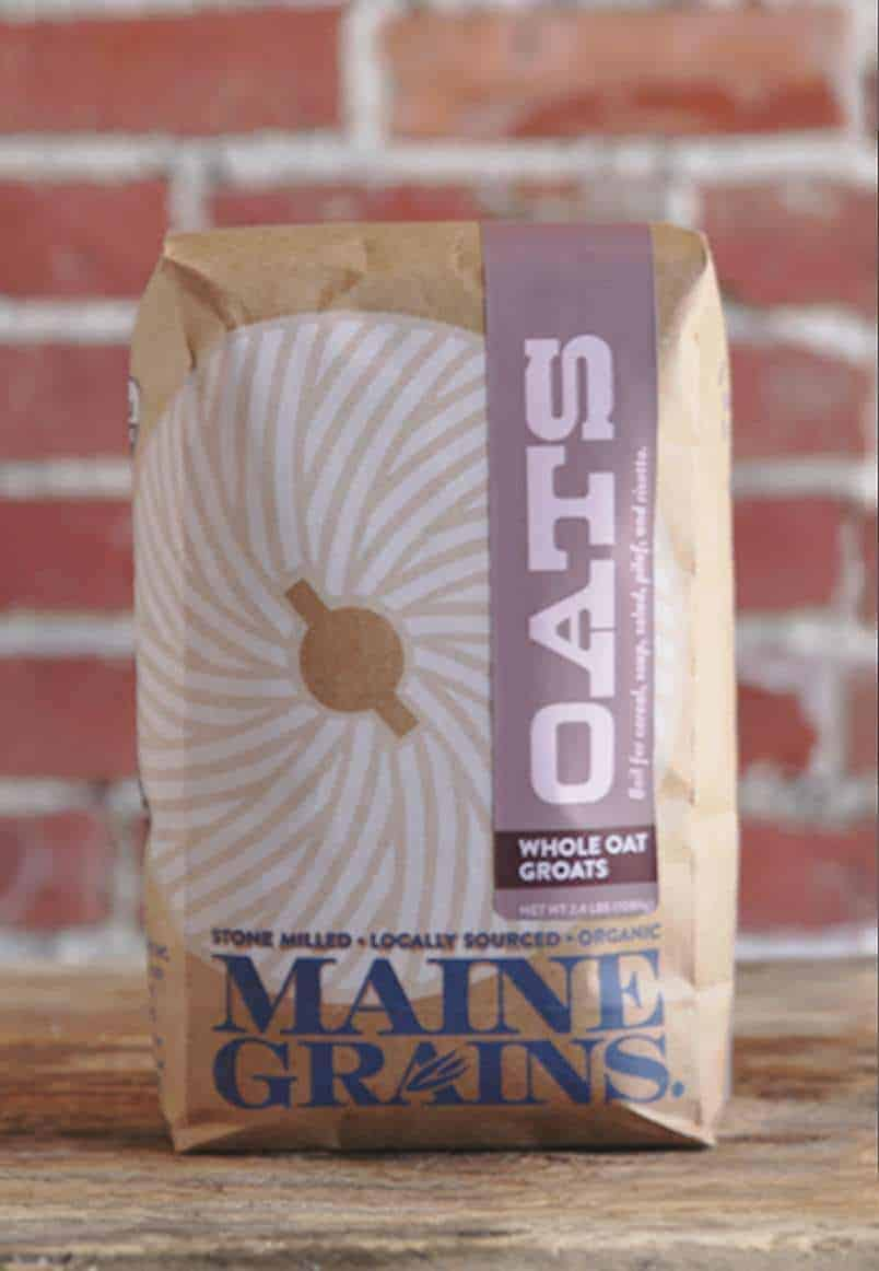 Organic Whole Oat Groats - Maine Grains