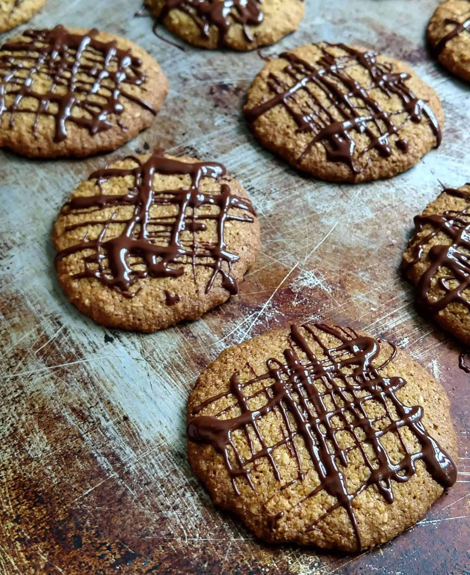 Cornmeal Oat Digestive Cookies