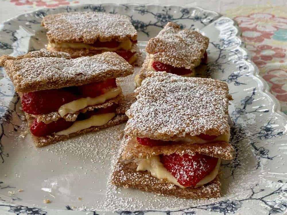 Ellie's Rustic Napoleon Pastry