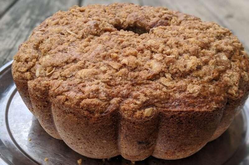 Zucchini and Cornmeal Crumb Cake