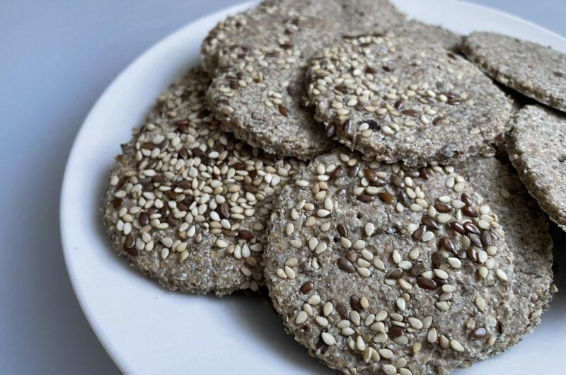 Sourdough or Unleavened Rye Crackers