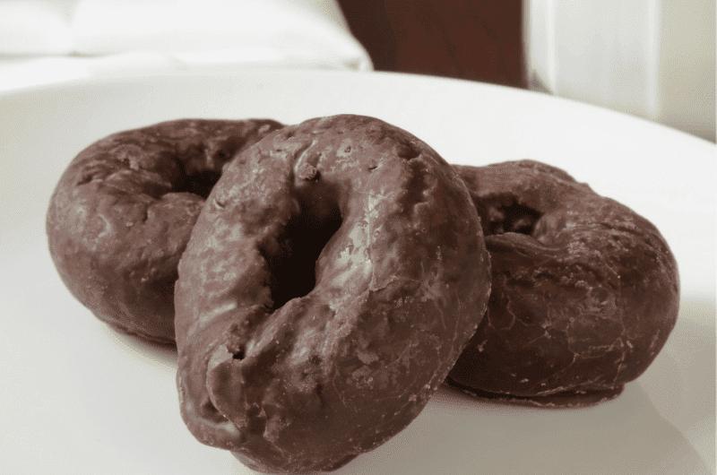 Chocolate Stout Doughnuts