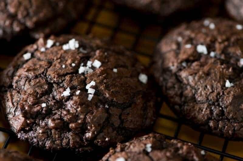 Salted Buckwheat Cookies