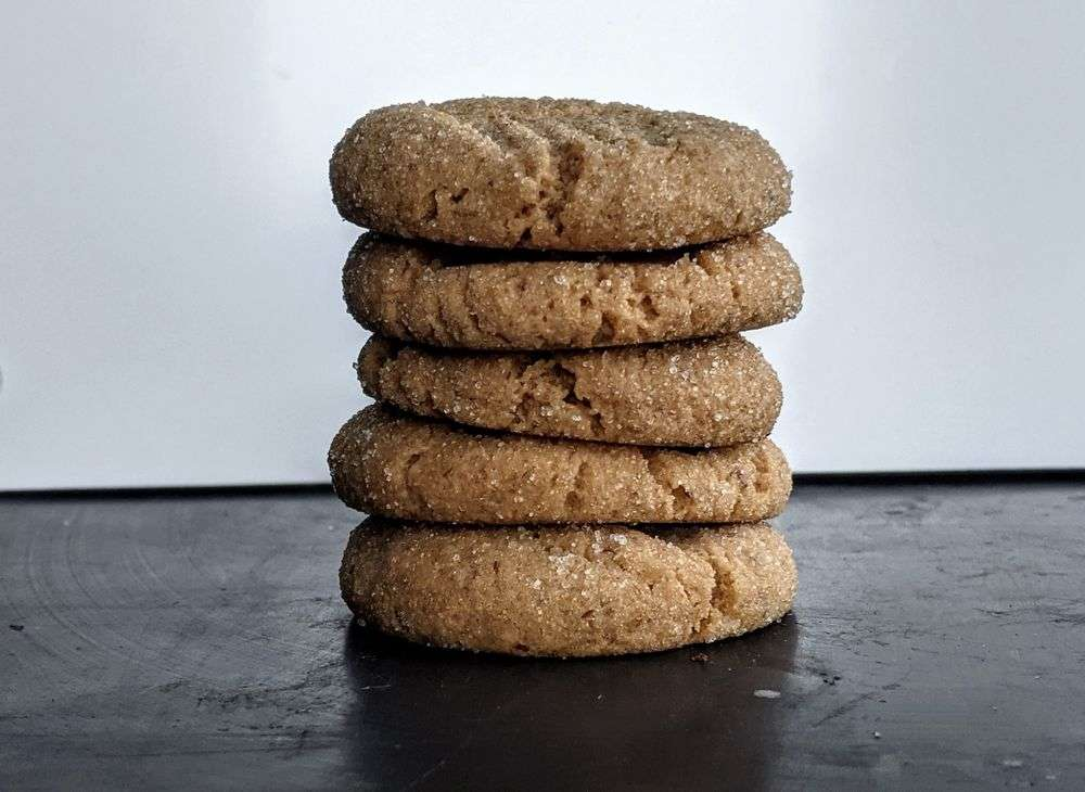 Natural Peanut Butter & Honey Cookies