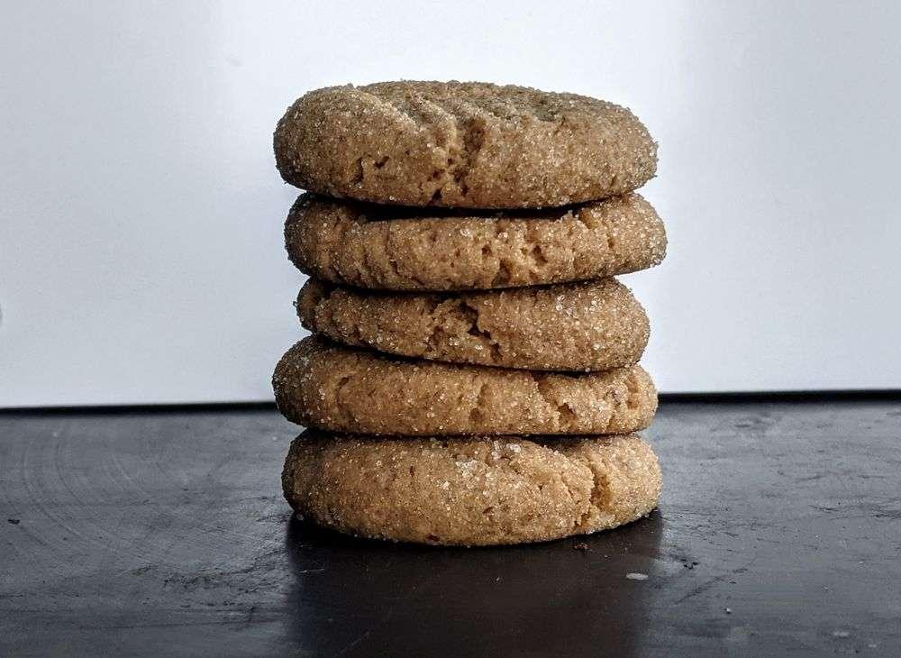 Natural Peanut Butter & Honey Cookies