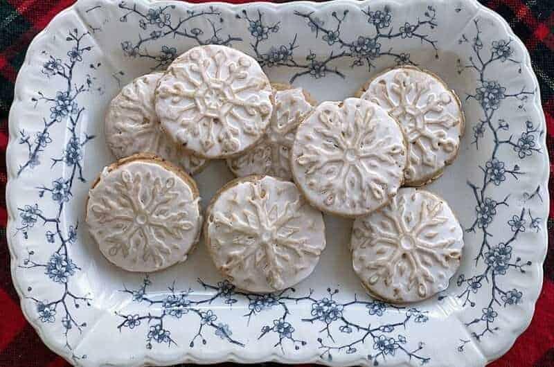 Wheat Stamped Sugar Cookies