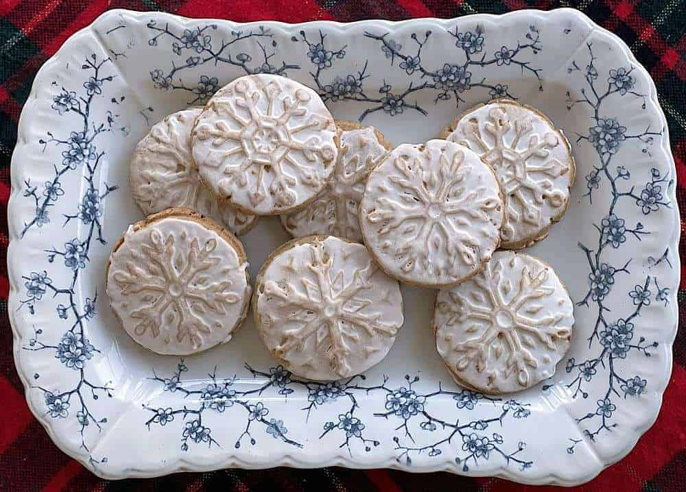 Wheat Stamped Sugar Cookies