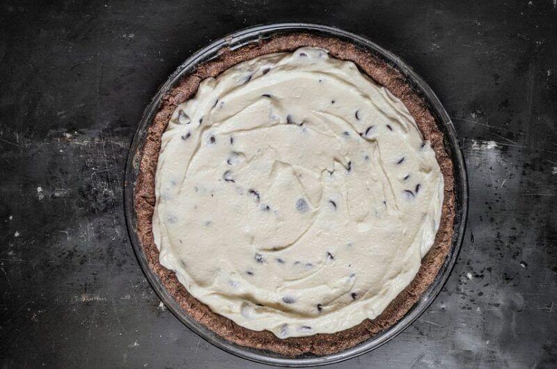 Buckwheat Chocolate Cannoli Pie