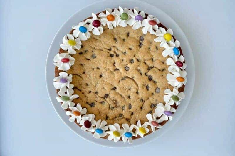 Kamut Cookie Cake with Ermine Frosting